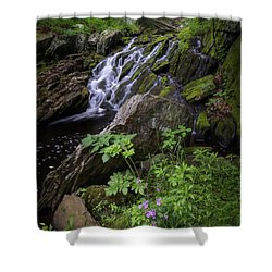 Shower Curtain featuring the photograph Serene Solitude by Bill Wakeley