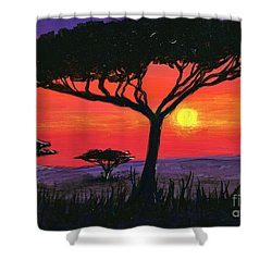 Kalahari  Shower Curtain