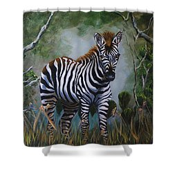 Serengeti Zebra Shower Curtain