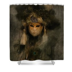 Serenissima La Grigia II Shower Curtain
