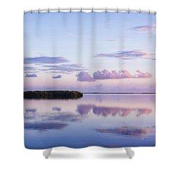Serenity At Sunrise Shower Curtain