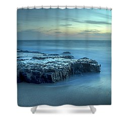Serenity At The Beach Shower Curtain