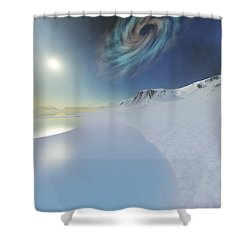 Serenity Shower Curtain by Corey Ford