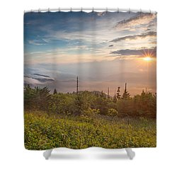 Shower Curtain featuring the photograph Serenity by Doug McPherson