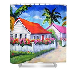 Serenity In Paradise Shower Curtain
