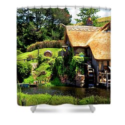 Serenity In The Shire Shower Curtain