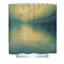 Serenity Shower Curtain by Jane See