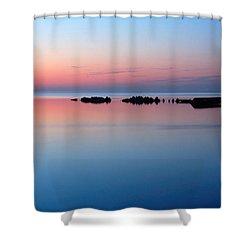 Serenity Shower Curtain by Joe  Ng