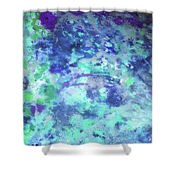 Serenity  Shower Curtain by Margalit Romano