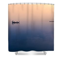 Serenity Shower Curtain by Marji Lang