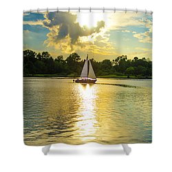 Serenity  Shower Curtain by Mary Ward