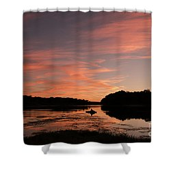 Serenity Shower Curtain by Nicki McManus
