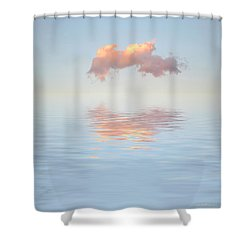 Serenity Now Shower Curtain by Jerry McElroy