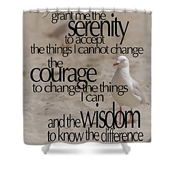 Serenity Prayer 01 Shower Curtain