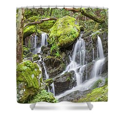 Serenity Station Shower Curtain