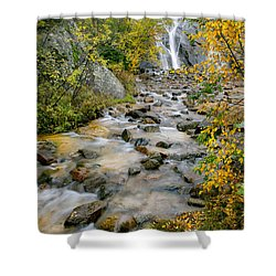 Shower Curtain featuring the photograph Serenity by Tim Reaves