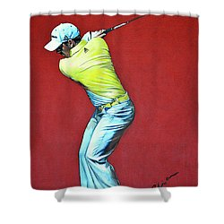 Sergio Garcia By Mark Robinson Shower Curtain by Mark Robinson