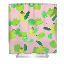 Series Pink 007 Shower Curtain