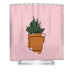 Series Pink 009 Shower Curtain