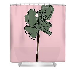 Series Pink 12 Shower Curtain