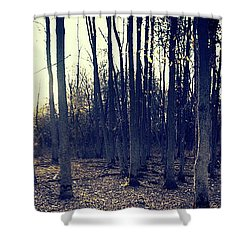 Series Silent Woods 1 Shower Curtain