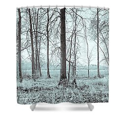 Series Silent Woods 2 Shower Curtain