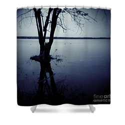 Series Wood And Water 2 Shower Curtain