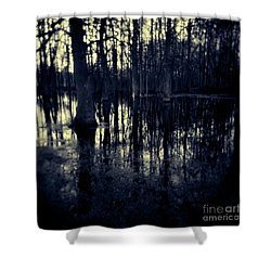 Series Wood And Water 4 Shower Curtain