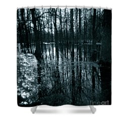 Series Wood And Water 7 Shower Curtain