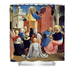 Sermon Of St Peter Shower Curtain by Granger