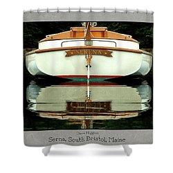Serna, South Bristol, Maine  Shower Curtain by Dave Higgins