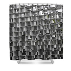 Serpentine Pavilion 02 Shower Curtain