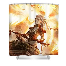 Serra Avatar Shower Curtain