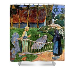 Serusier: Barriere, 1889 Shower Curtain by Granger