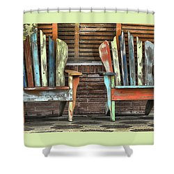 Set A Spell Shower Curtain by Laura Ragland