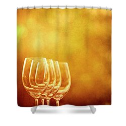 Set For Four Shower Curtain