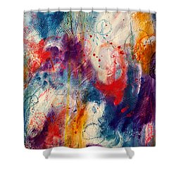 Set Me Free Shower Curtain