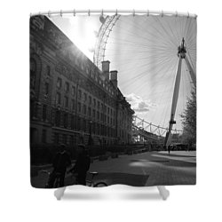 Set Of Wheels Shower Curtain
