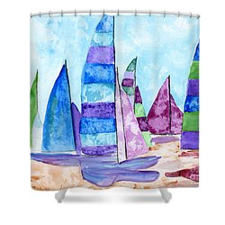 Set Sail Shower Curtain