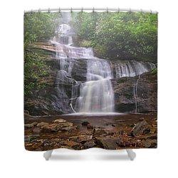 Setrock Creek Falls  Shower Curtain