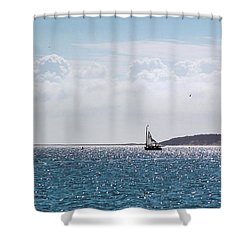 Setting Sail Shower Curtain