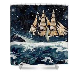 Setting Sails Shower Curtain