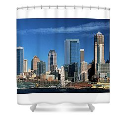 Seattle, Wa, Fine Art Print Shower Curtain