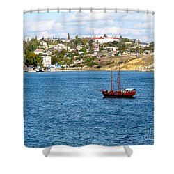 Sevastapol. Ukraine Shower Curtain
