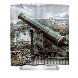 Sevastopol Cannon 1855 Shower Curtain