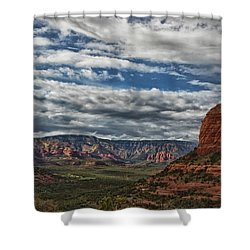 Seven Canyons Shower Curtain