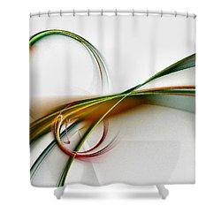 Seven Dreams - Fractal Art Shower Curtain