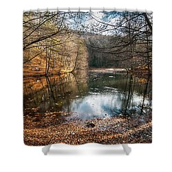 Shower Curtain featuring the photograph Seven Lakes by Okan YILMAZ