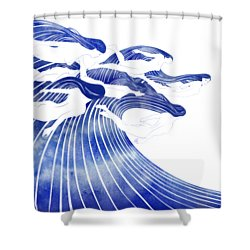 Seven Nereids Shower Curtain