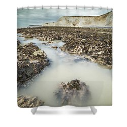 Seven Sisters England Shower Curtain